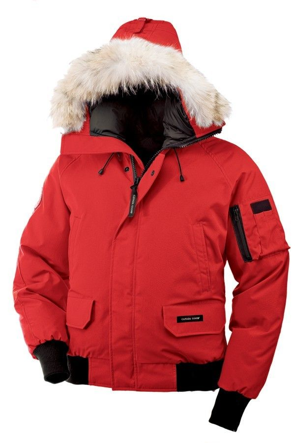 hot sale online 970f0 ac705 Canada Goose Chilliwack Bomber Uomo Parka Rosso | Cheap ...