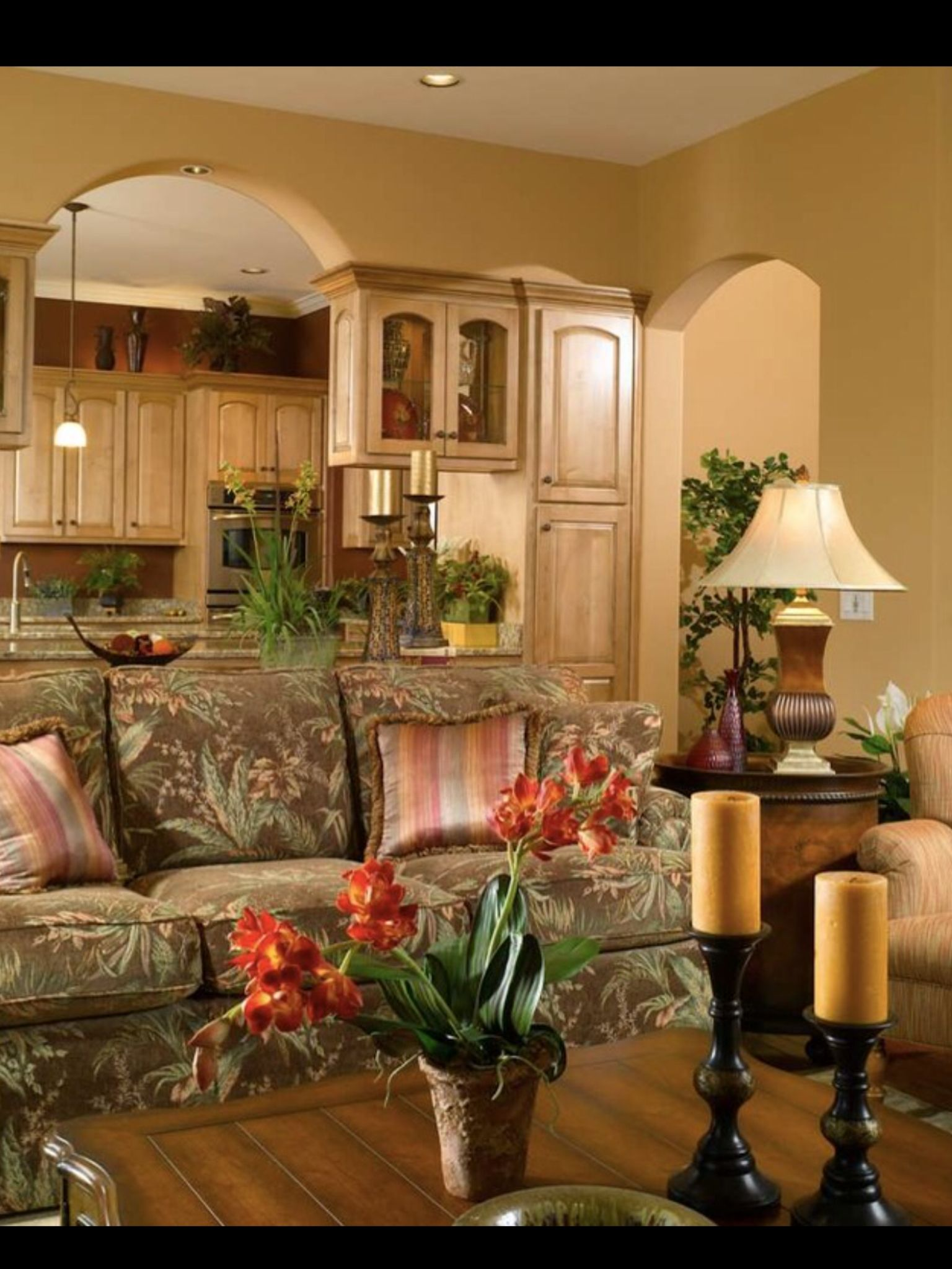 Tv Showcase Design Ideas For Living Room Decor 15524: Love The Arch With Bookend Cabinets Over Bar.