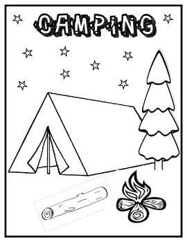 Pin By Lani Kurland On Kindergarten Camping Theme Camping