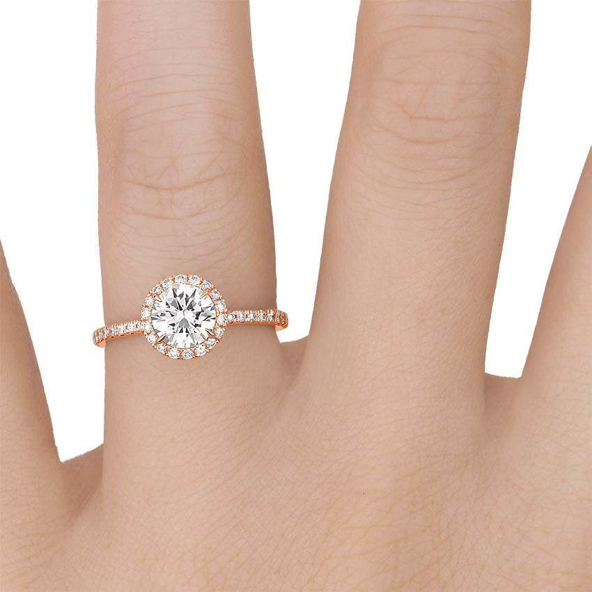 This Waverly Diamond Ring 1 2 Ct Tw Has A Carat Shaped Conflict Free Diamond With Color Clarity An Diamond Engagement Ring Set Diamond Ring Diamond