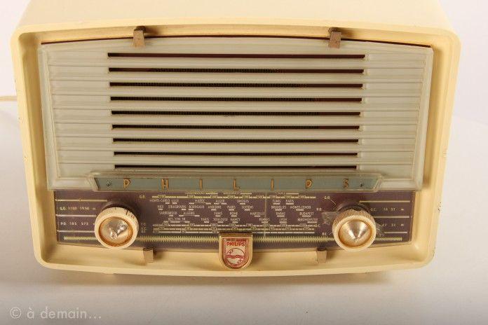 Radio Philips vintage de 1957 €70