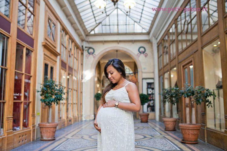 séance photos femme enceinte paris