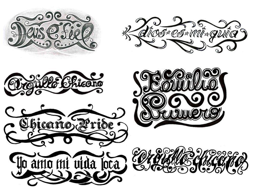 42 best Tattoo Lettering images on Pinterest
