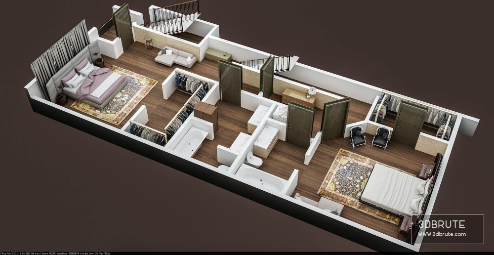 3d Floor Plan Of Appartment Building First Floor Download 3d Models Free 3dbrute Modular Home Floor Plans 3d Home Design Software Home Design Software
