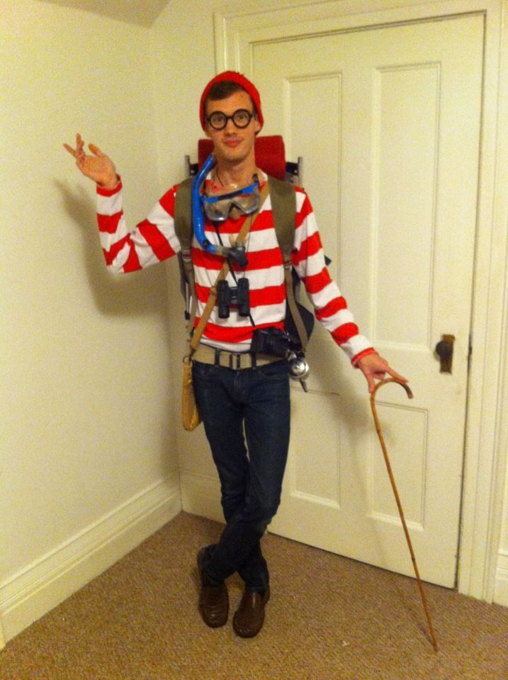 Deluxe Plus Size Adult Costume Where's Waldo  |Waldo 90s Halloween Costumes For Women