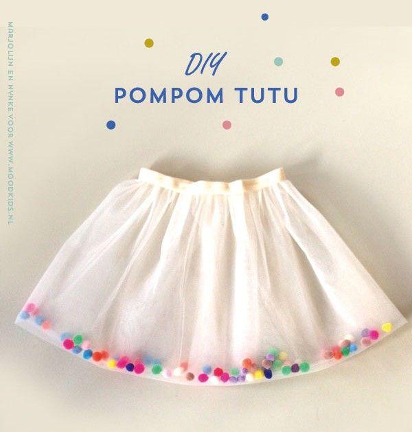 Top Eenvoudig zelf een feestelijke (tule rok) tutu maken | Projects to &FN63