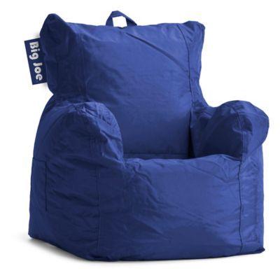 Big Joe Fabric Cuddle Bean Bag Chair In Sapphire Bean Bag Chair