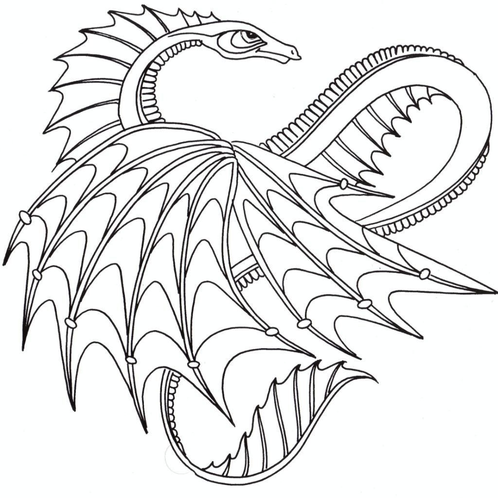 Cool Dragon Coloring Pages Ideas Dragon Coloring Page Free