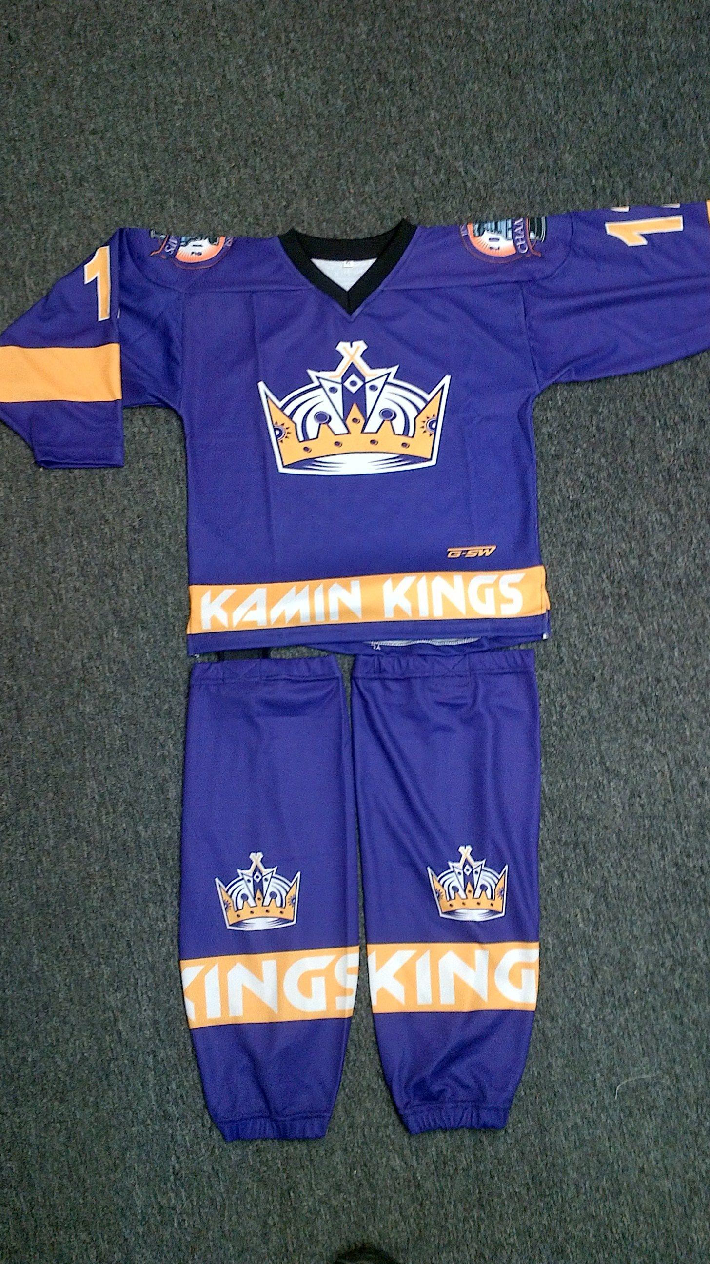 Custom sublimated uniform for the Kamin Kings  0960aca40