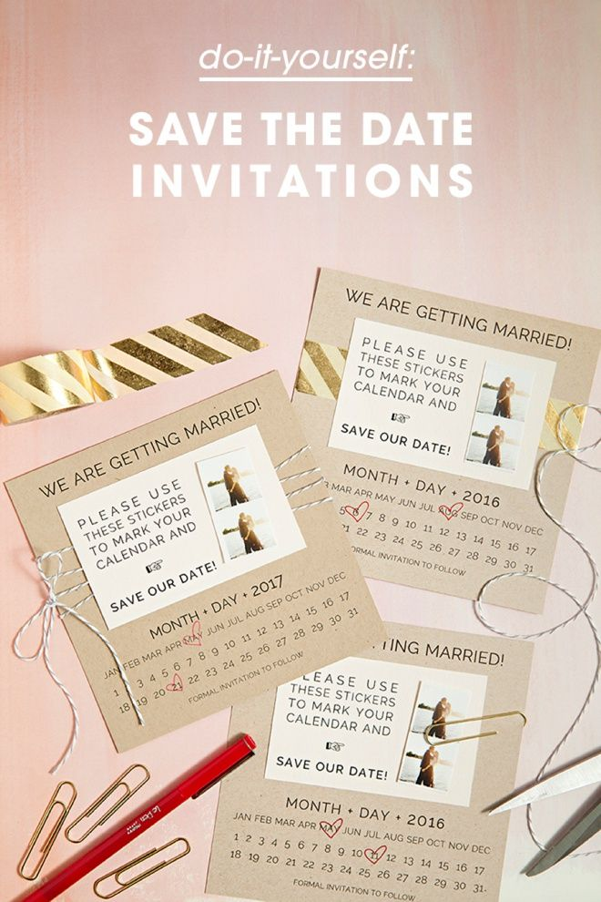 Learn how to diy save the dates with calendar stickers calendar diy save the date invitations with custom calendar stickers free printables solutioingenieria Images