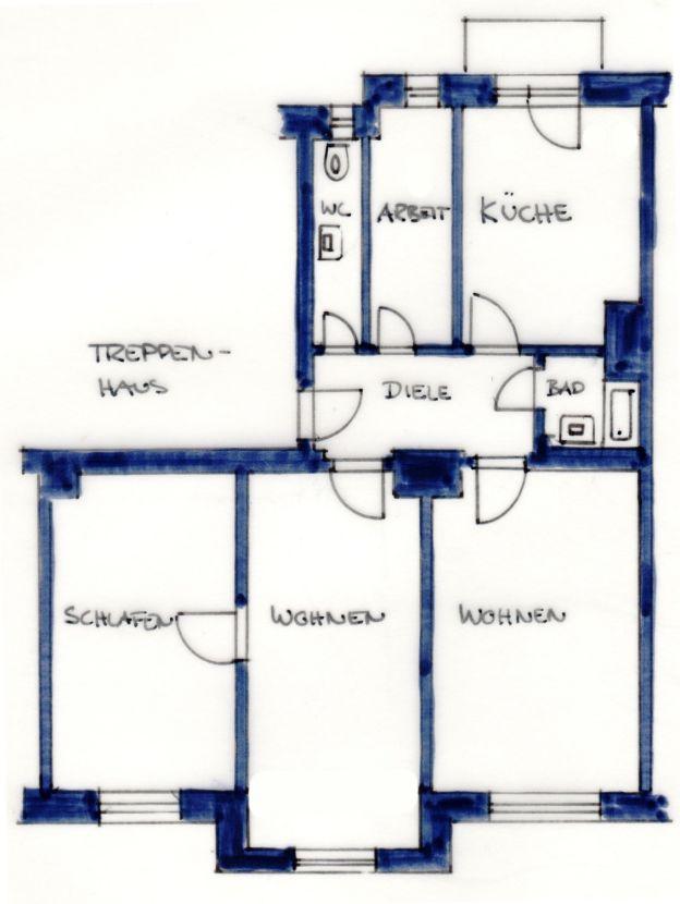 Schone Vier Zimmer Wohnung In Munchen Schwanthalerhohe Wohnung In Munchen Immobilien Scout Umzugskosten