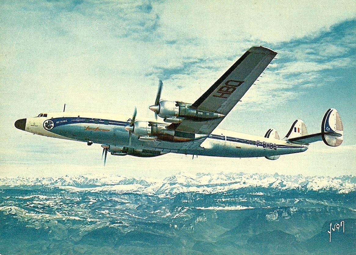 Air France Lockheed L1649A9811 Starliner FBHBQ c/n