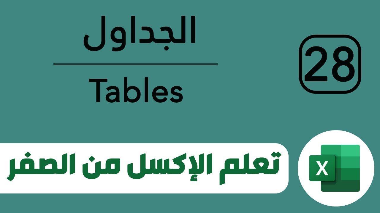 كيفية وطريقة عمل وانشاء رسم جدول وتنسيقه Excel Gaming Logos Excel Projects To Try