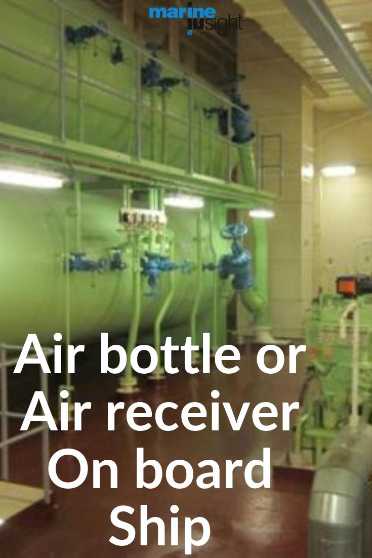 Air bottle or Air receiver On board Ship Air receiver