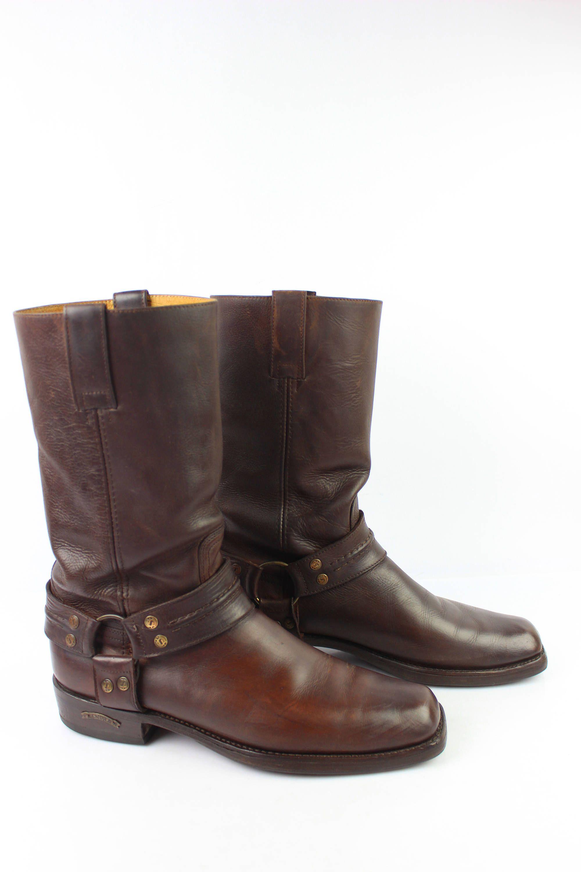 Boots Tout Cuir Marron Cognac Modèle Mixte T 42 TBE