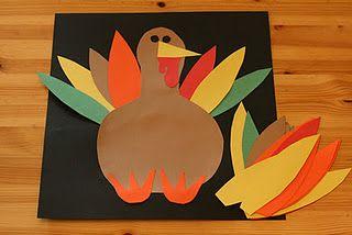 Photo of Ein November Handwerk für Kinder! Fügen Sie jemals eine Feder hinzu