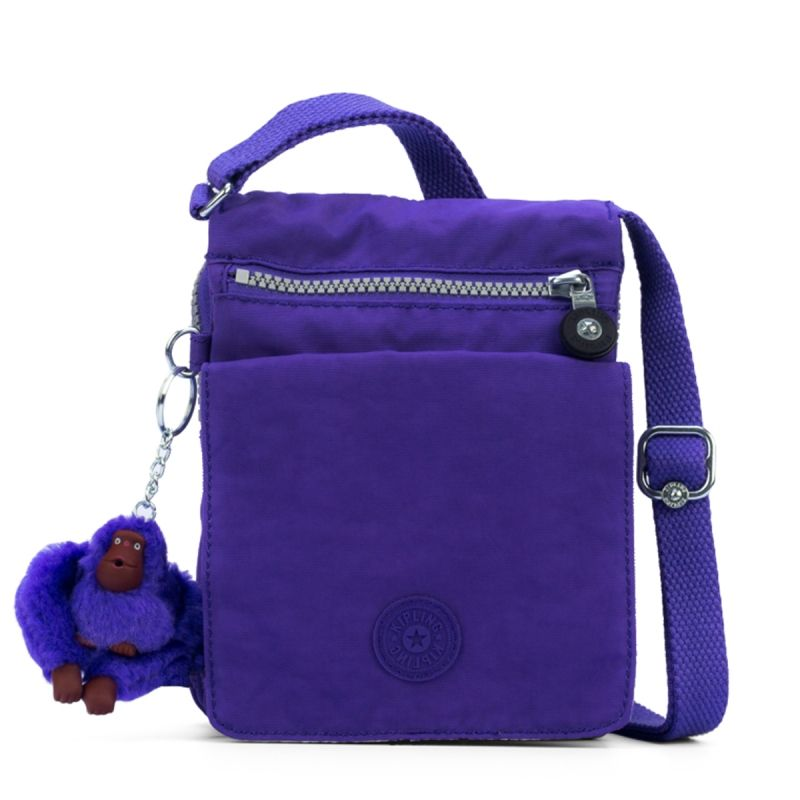 271ad6dc6 Bolsa transversal Eldorado roxa Purple Grape Kipling   Purplelicious ...