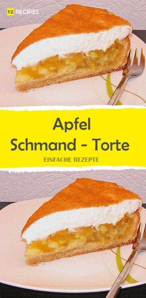 Apfel Schmand Torte Apfel Schmand Torte Kuchen Und Torten Kuchen Und Torten Rezepte
