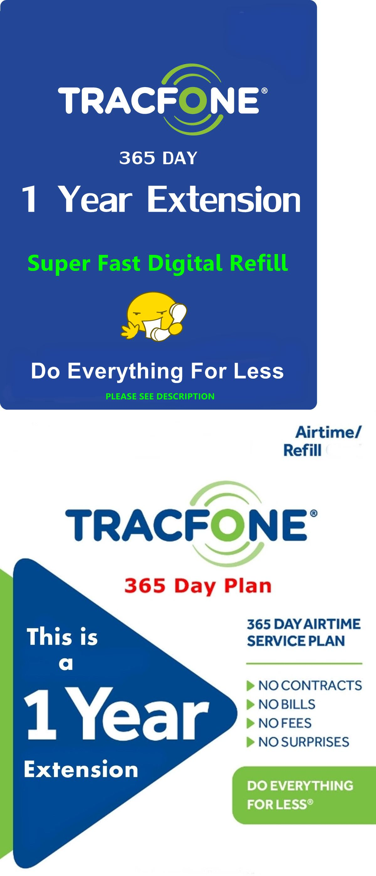 Tracfone 1 Year Service Extension This Adds 365 Days Non Smartphone International Sim Card Travel Sim Card Verizon Prepaid