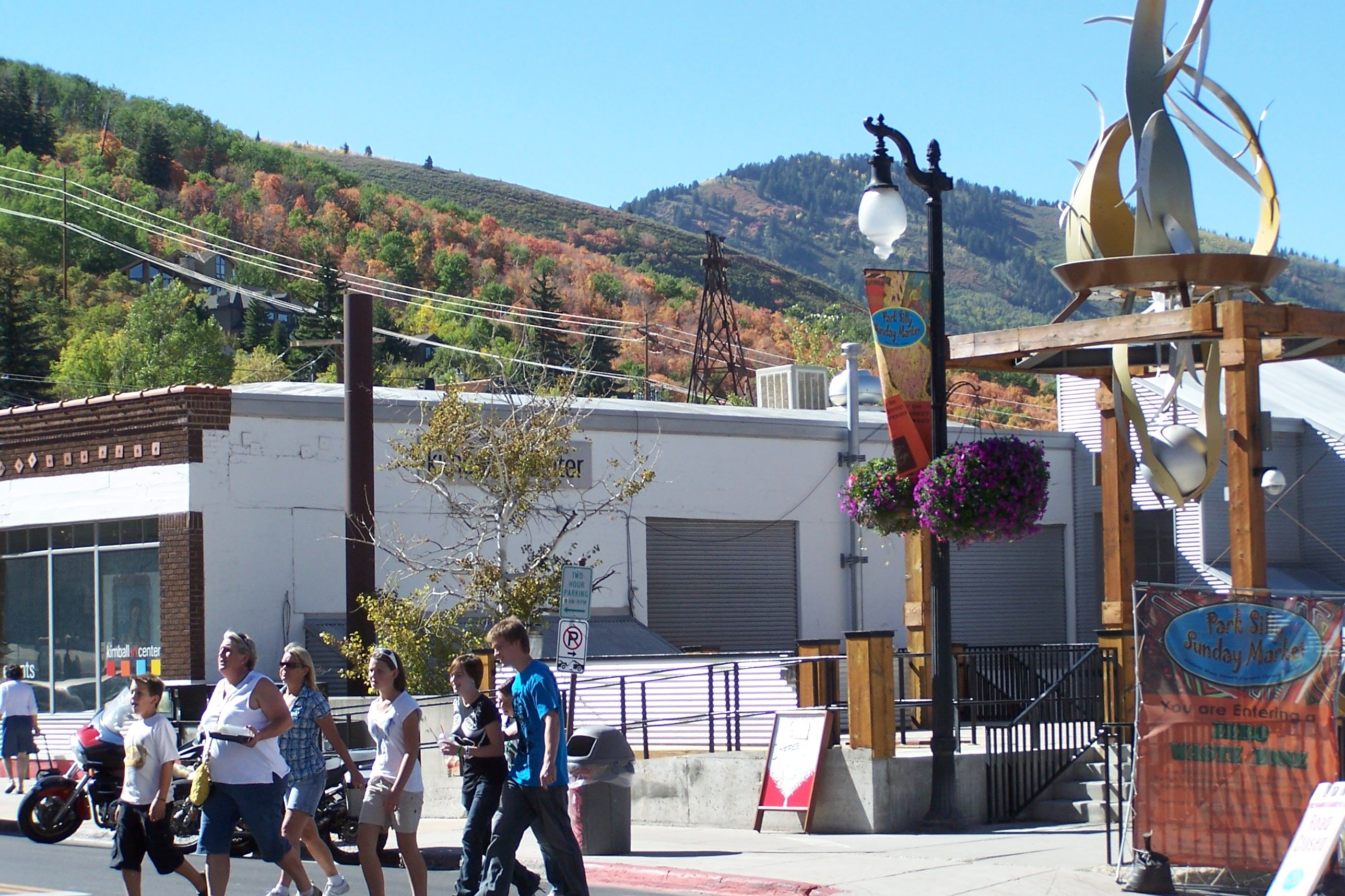 Park City, Utah - a great place to visit year round not just during the film festival