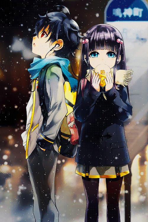 Sousei No Onmyouji Anime Stars Anime Twin Star Exorcist