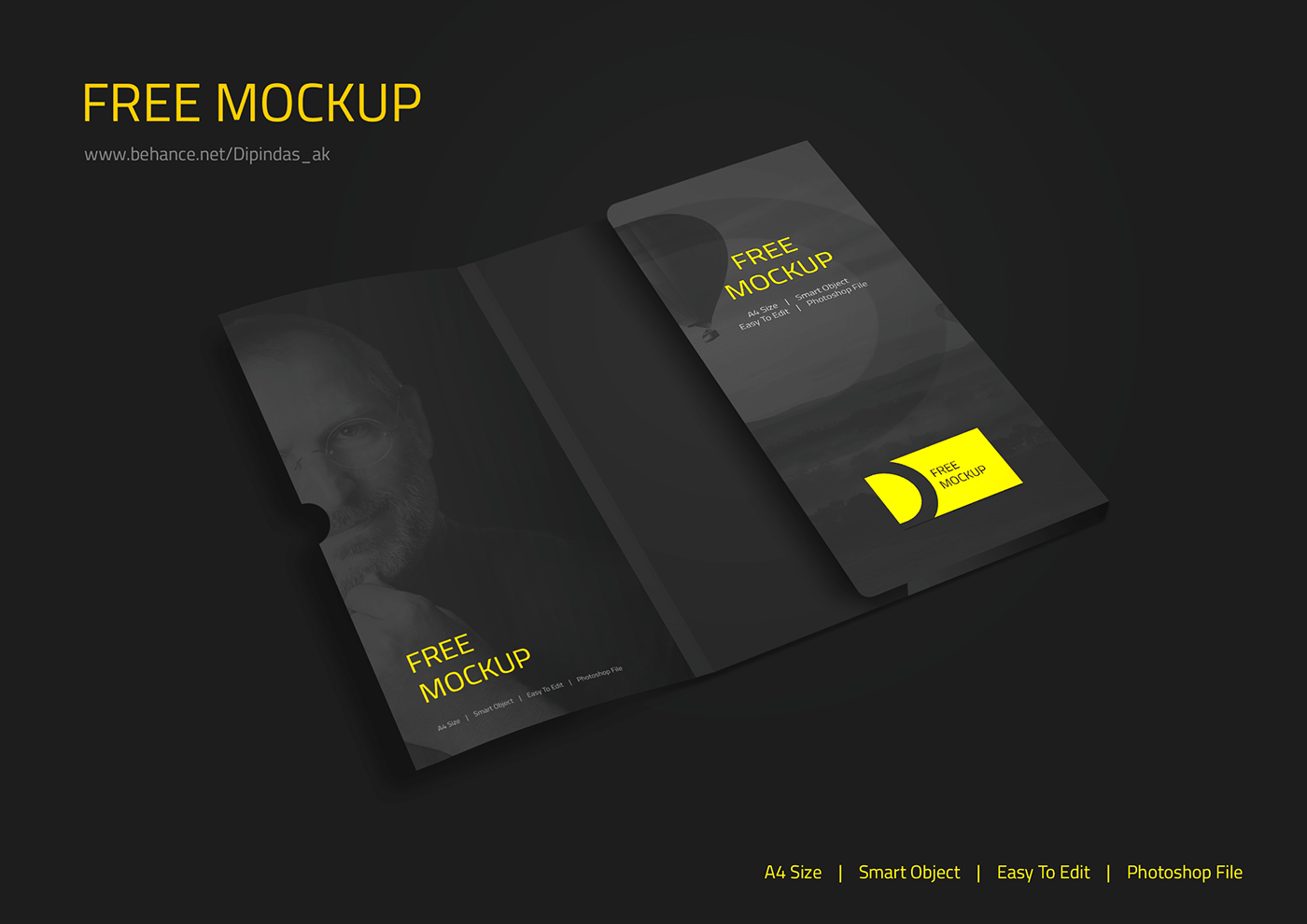 Corporate Folder Mockup Psd Folder Mockup Folder Mockup Psd Corporate Folder