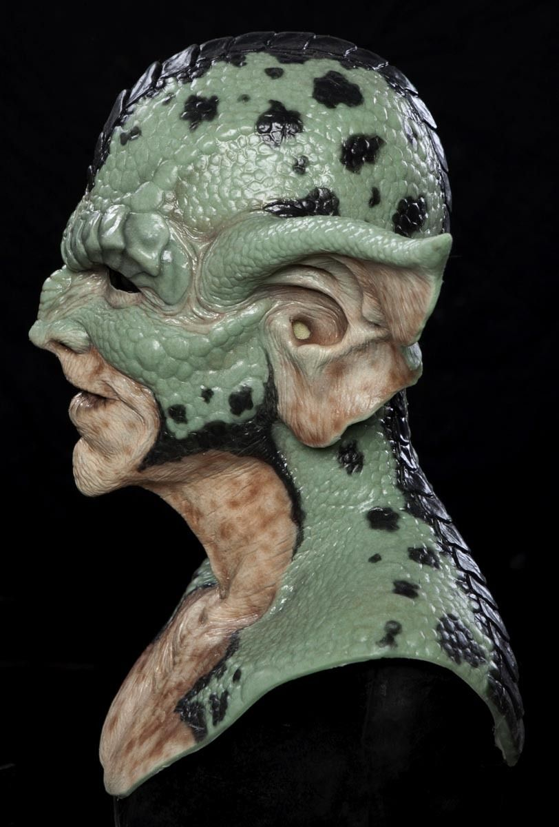 Gremlin The Reptile Mask (Green) · Real Horror Mask · Online Store ...