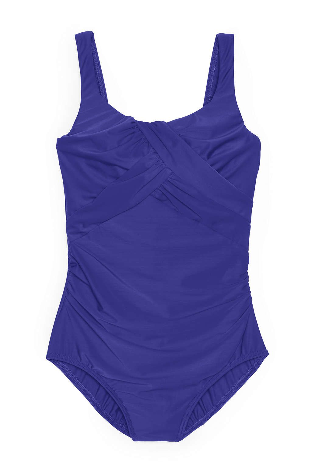 2ab0360a065 Women's Slender Carmela Underwire One Piece Swimsuit with Tummy Control  from Lands' End