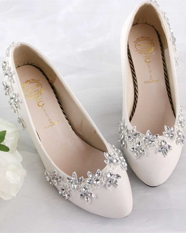 Welcome To Sirfen Store The Items Will Be Shipped Out In 7 Days Normally You Can Receive The Sho Crystal Wedding Shoes Handmade Wedding Shoes Wedding Shoes