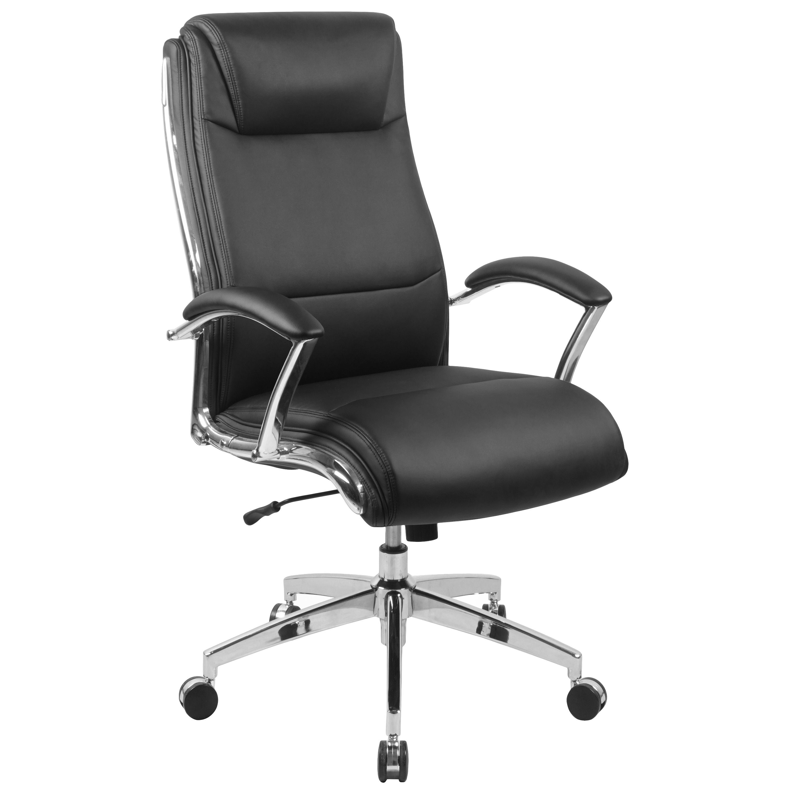 High Back Designer Bonded Leather Executive Swivel Chair