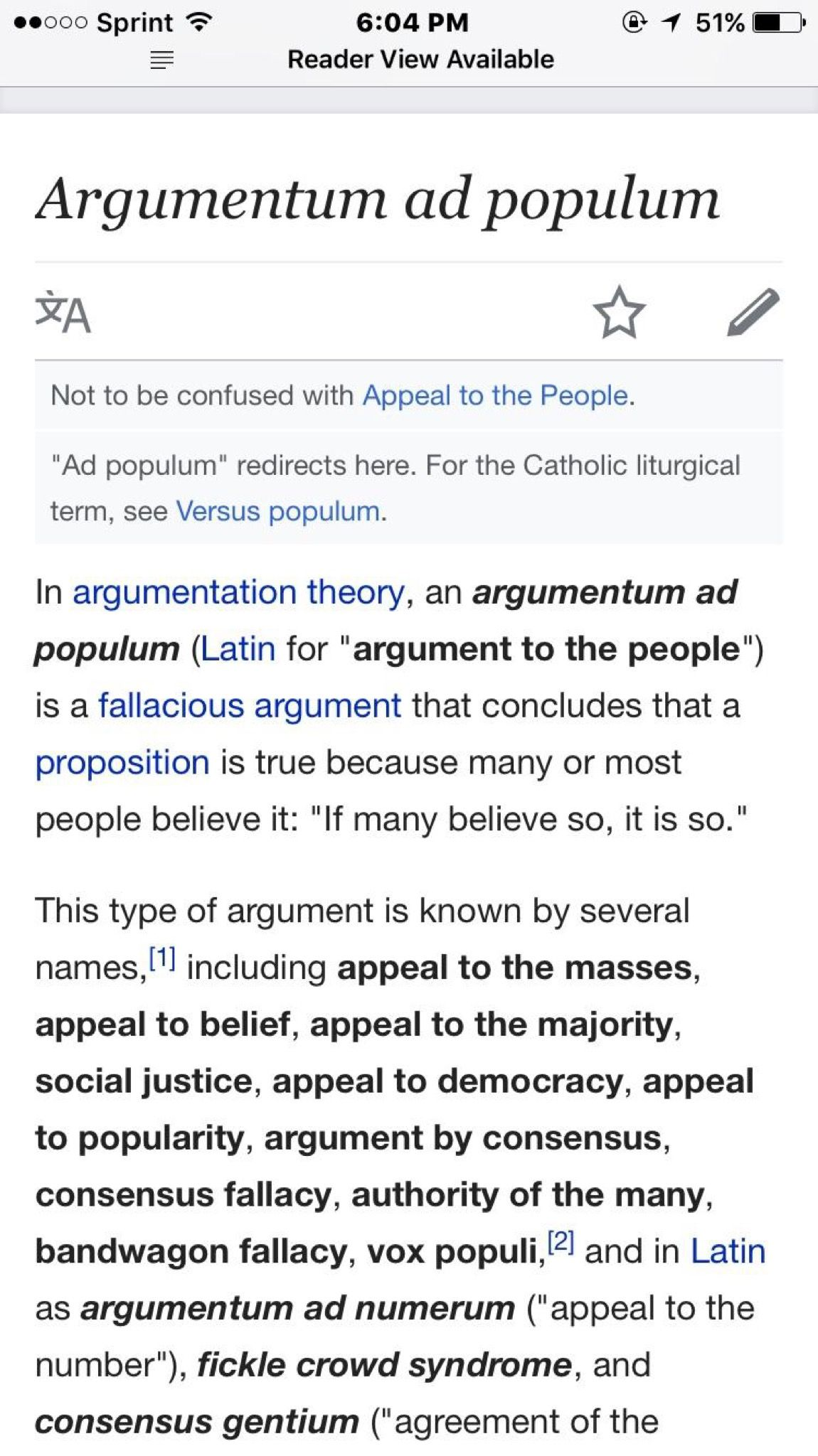 Pin by David E. Ward on Life Tips   Argumentum ad populum