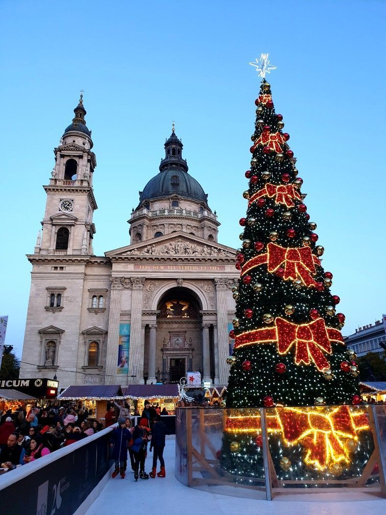 Christmas Market at St. Stephen's Basilica In 2018
