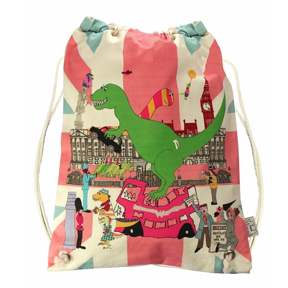 London dinosaur childrens swim bag kit bag swimming