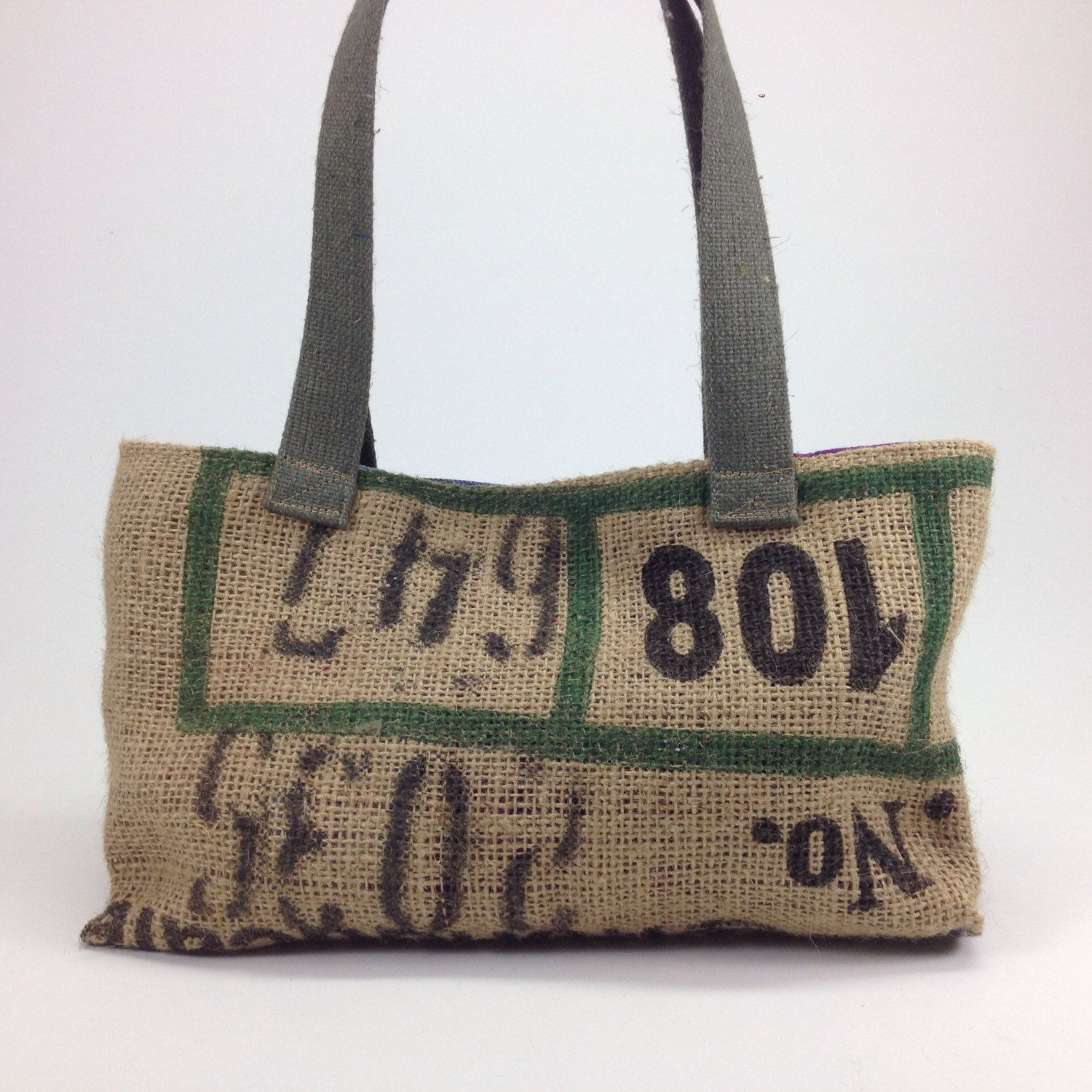 Burlap Bags For Wedding Favors Coffee Printed Love Is Sweet Rustic