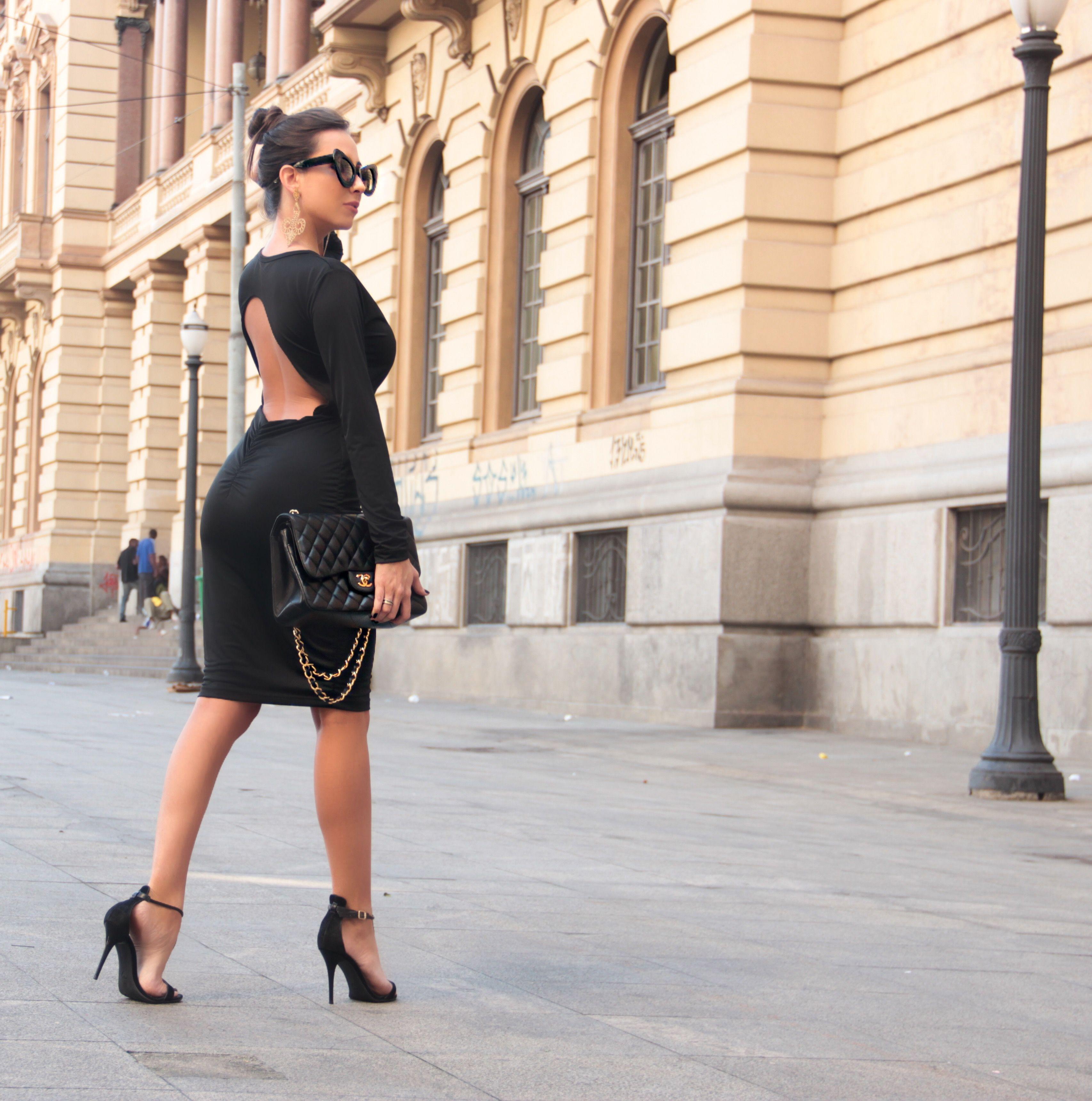 Dress Black Madri by PAT DARC