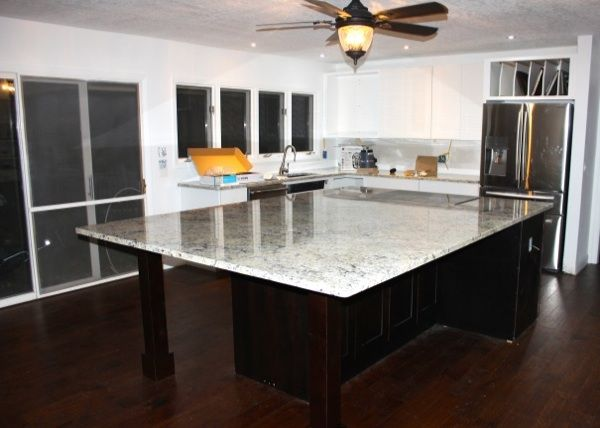 Countertops! Renovation Adventures. Diy Kitchen IslandHuge ...