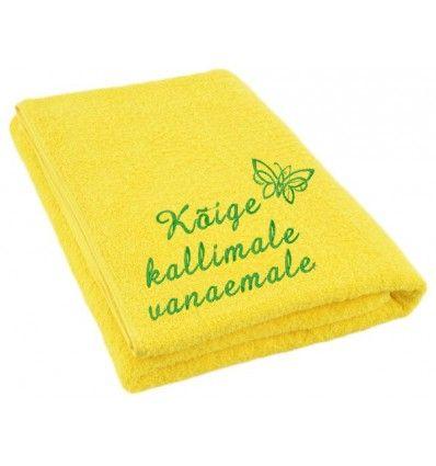 50eba3c4892 Saunalina Kallile vanaemale | Muud tooted | Kitchen, Tableware, Napkins