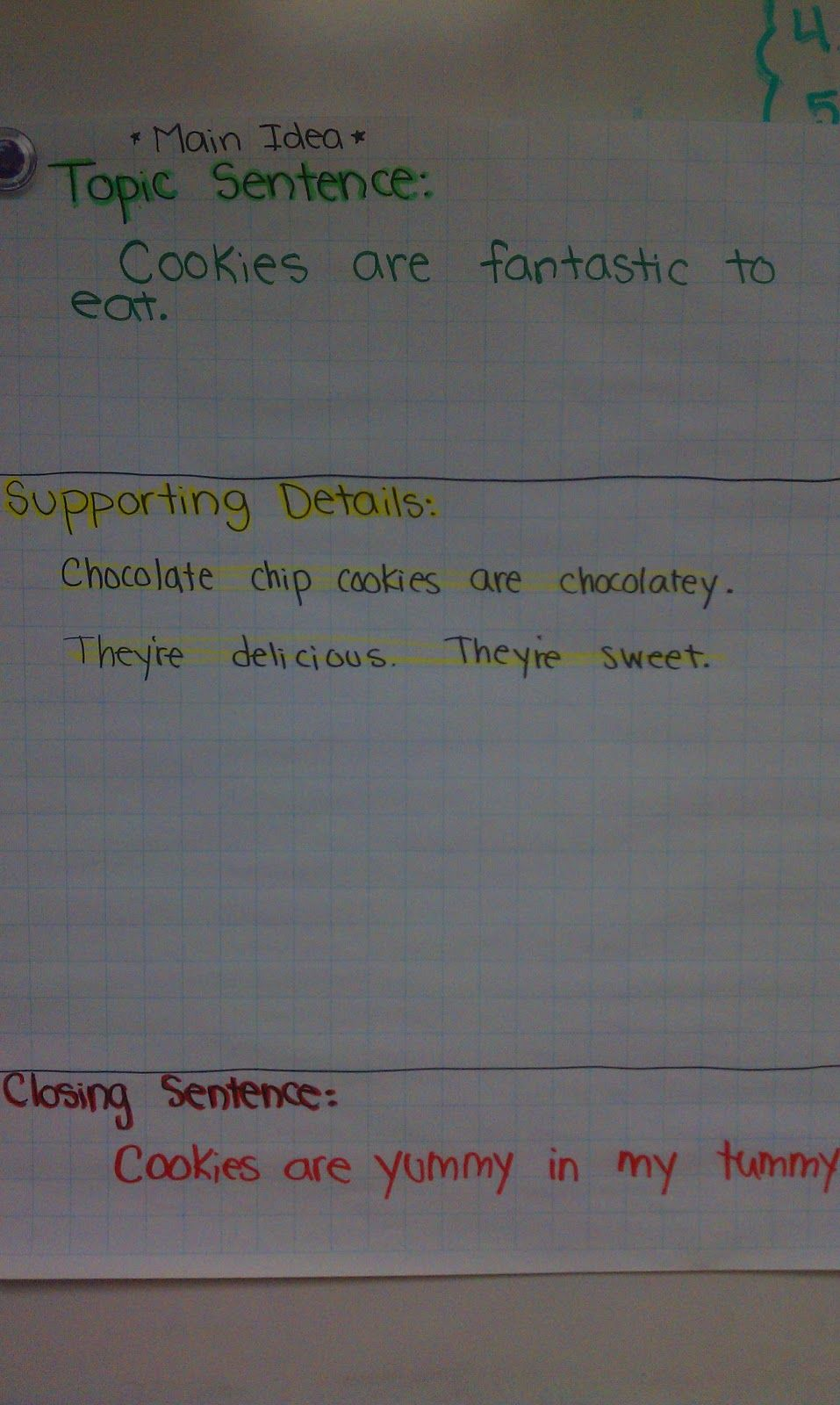 Savvy In Second Stoplight Paragraphs Helping Structure Writing Structured Writing Writing Second Grade Writing [ 1600 x 957 Pixel ]