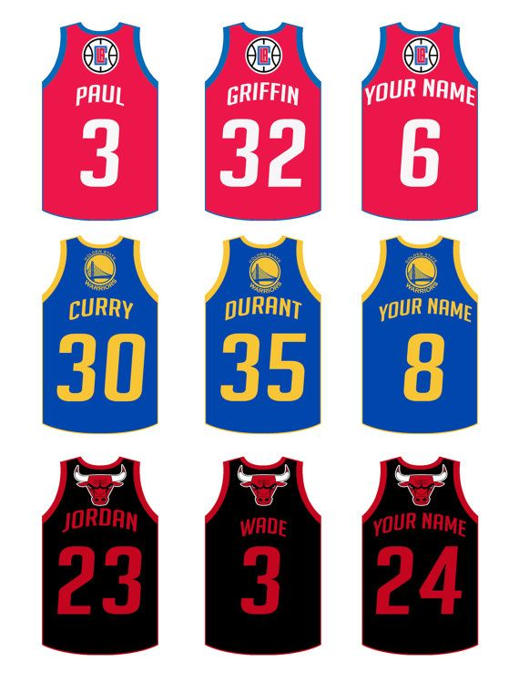 70a44cb2030f 1 sheet of personalized jersey cutouts • High-resolution .JPG file or PDF