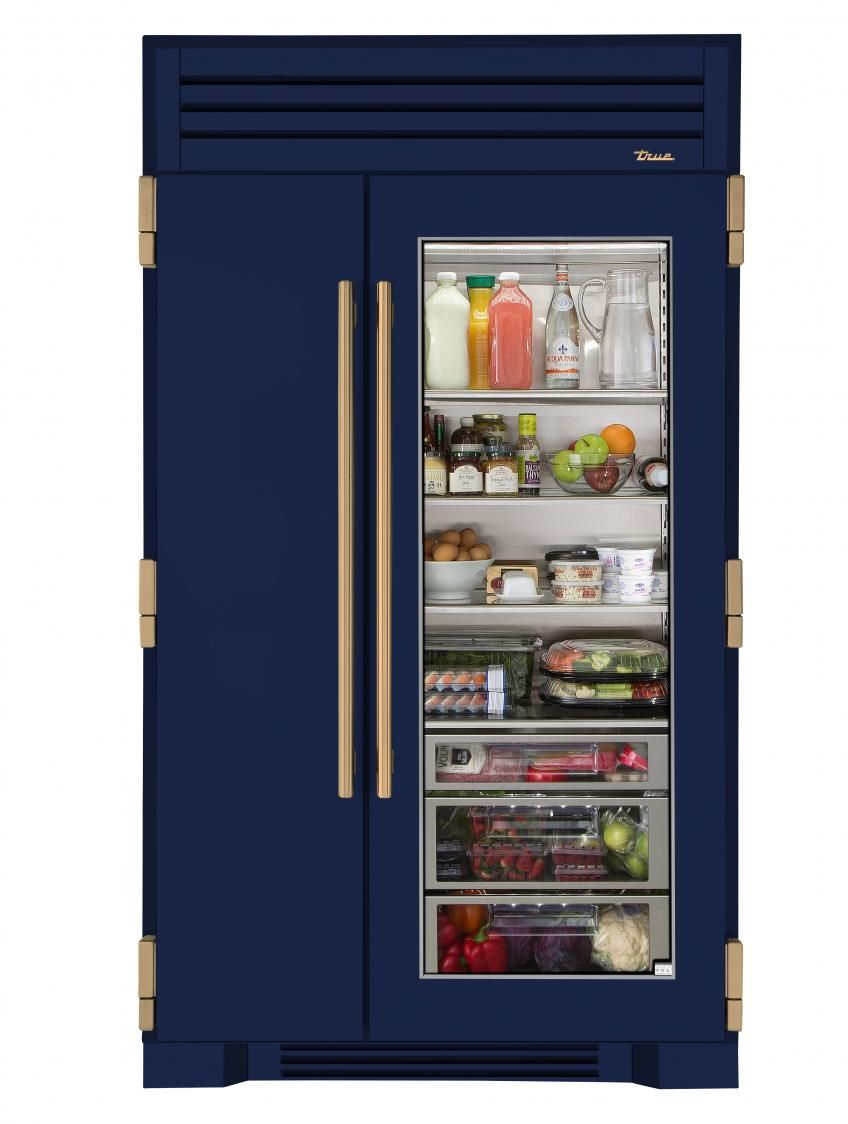 True Refrigeration 48 Inch Glass Door Fridge Cobalt Blue Glass Door Refrigerator Glass Door Fridge Glass Fridge
