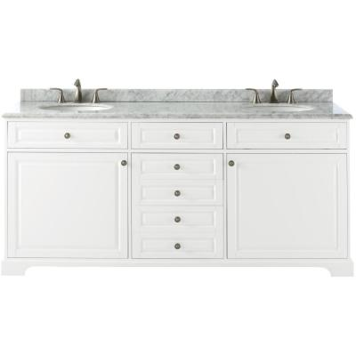 Home Decorators Collection Highclere 72 In W X 22 In D Vanity In