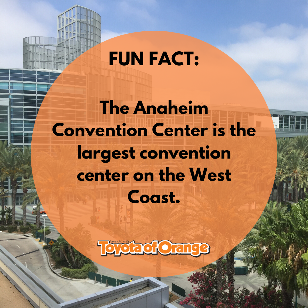 The Anaheim Convention Center Is The Largest Convention Center On The West Coast There Are Some Incredible Events Anaheim Convention Center Anaheim Fun Facts