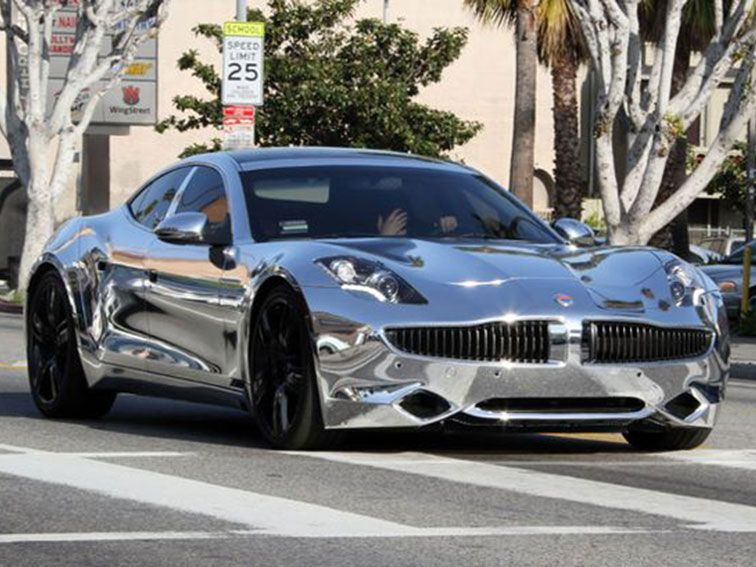 Justin Bieber And Jay Leno Drive Fisker Karma Electric Luxury Car