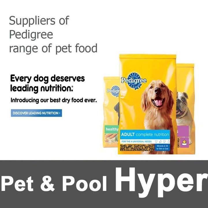 Proud To Be A Stockist Of Pedigree Pet Food Visit Us At Pet