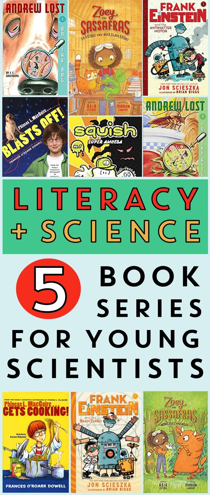 photo regarding Who Was Book Series Printable List referred to as Literacy and Science: Ebook Sequence for Younger Experts