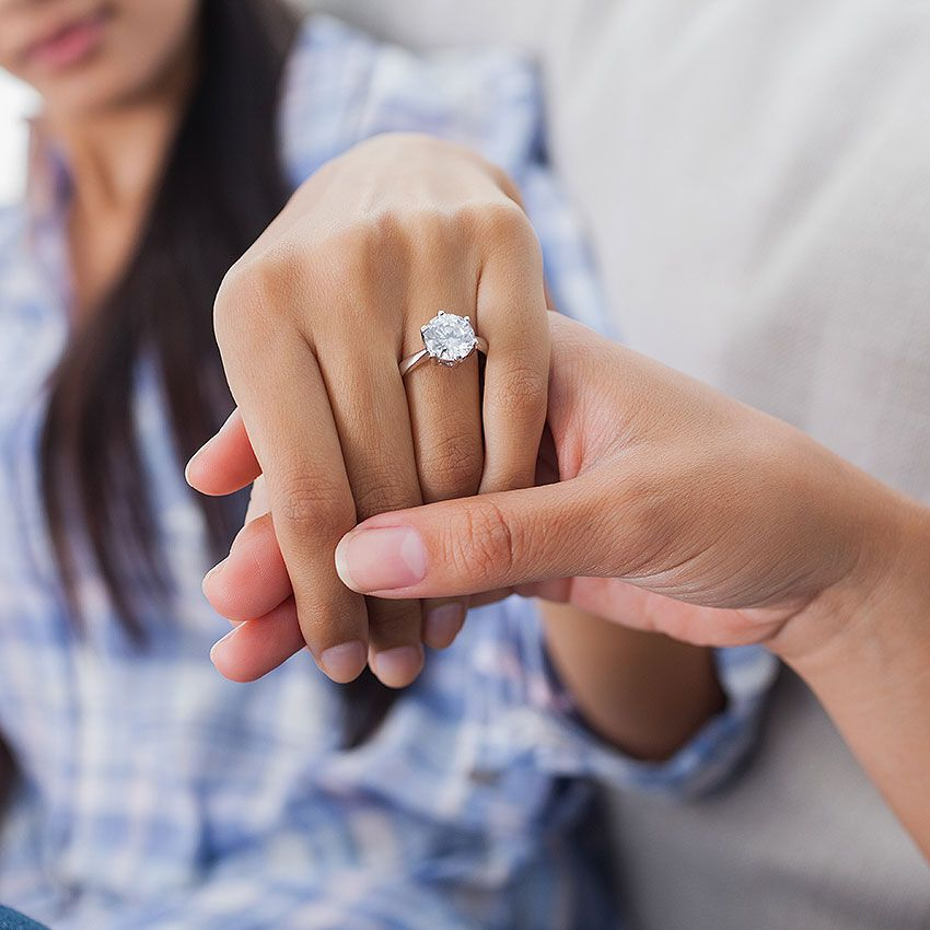 Which Hand for Engagement Rings Wedding Rings & Eternity