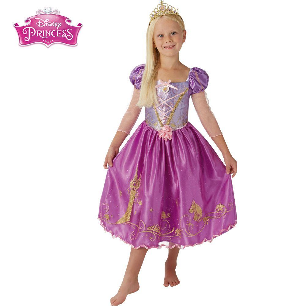 Disfraz Rapunzel Deluxe Infantil Disfraces Cine Y Peliculas