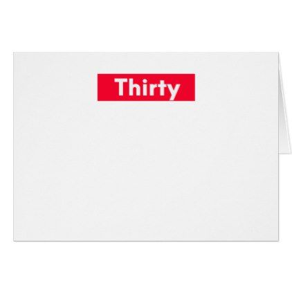 Thirty Years Old Funny 30th Birthday Card 30th Birthday Cards 30