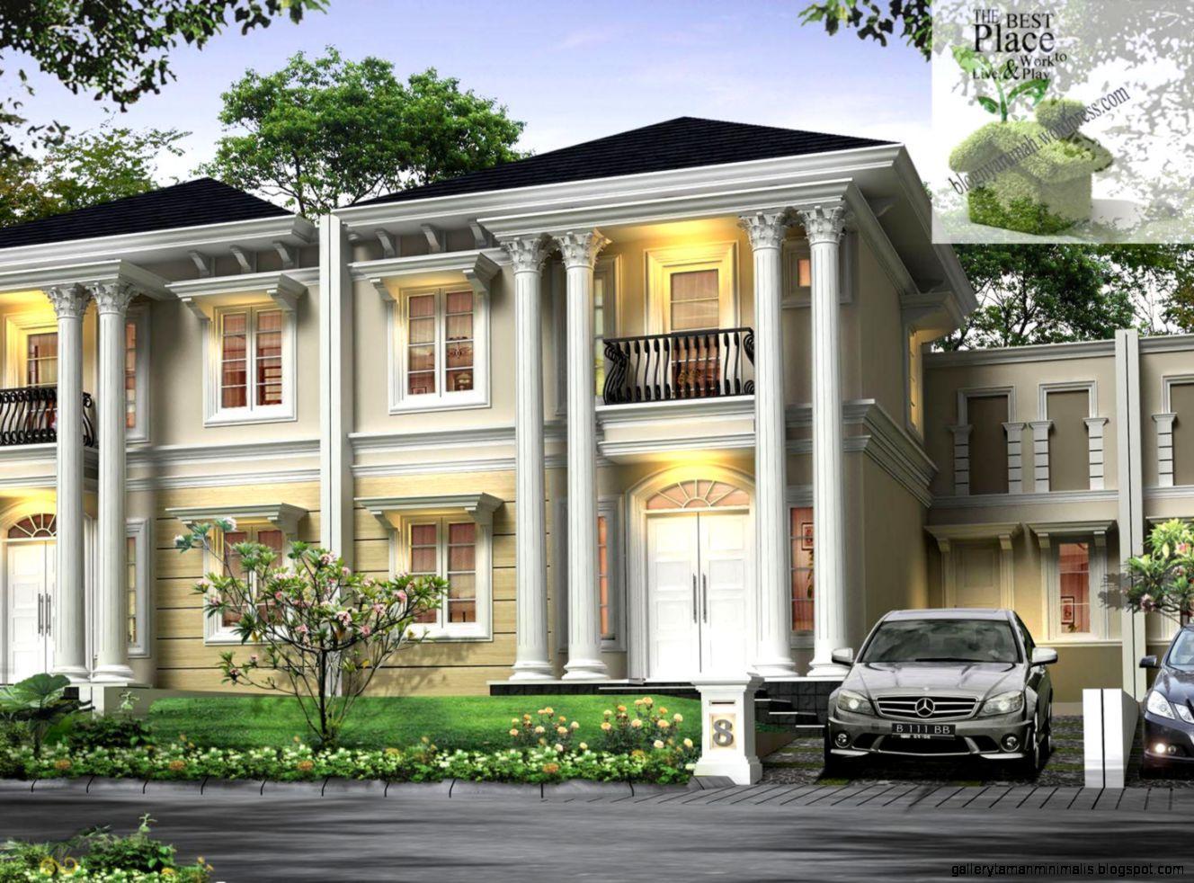 Desain Rumah Mewah Pengusaha Kaya Indonesia Rumah Mewah Desain Rumah Home Fashion