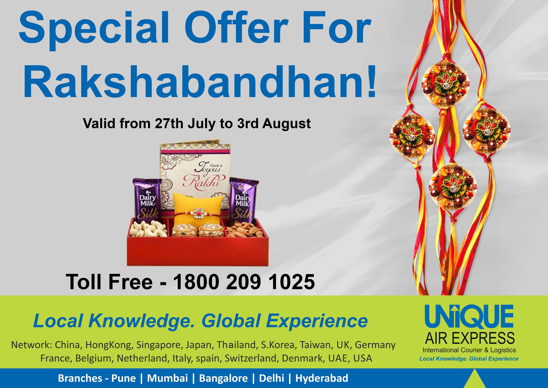 Special Rates For Raksha Bandhan ! Bookings Started !